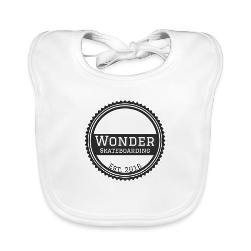Wonder unisex-shirt round logo - Hagesmække af økologisk bomuld