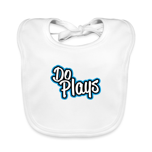 Mannen Baseball   Doplays - Bio-slabbetje voor baby's