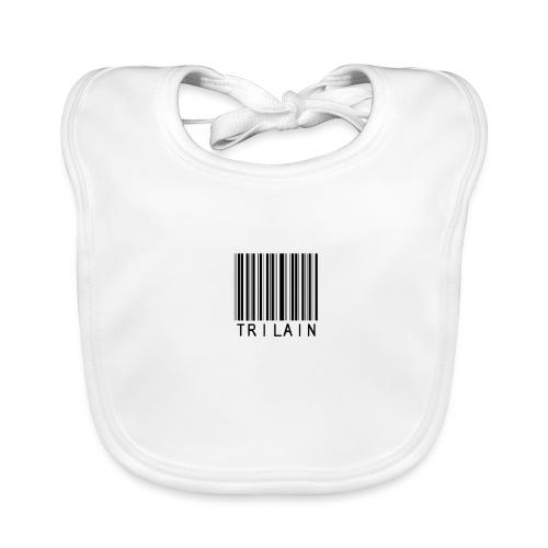 Trilain - Standard Logo T - Shirt White - Bio-slabbetje voor baby's