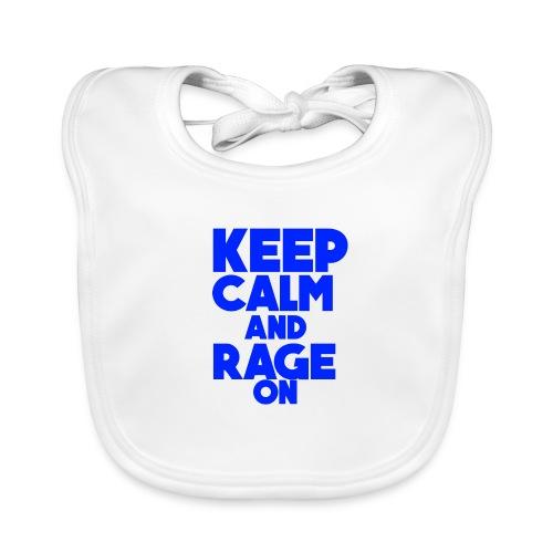KeepCalmAndRageOn - Baby Organic Bib