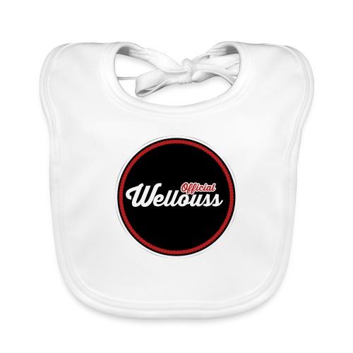 Wellouss Fan T-shirt | Rood - Bio-slabbetje voor baby's