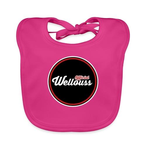 Wellouss Fan T-shirt   Rood - Bio-slabbetje voor baby's