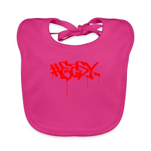 #EASY Graffiti Logo T-Shirt - Bavaglino ecologico per neonato