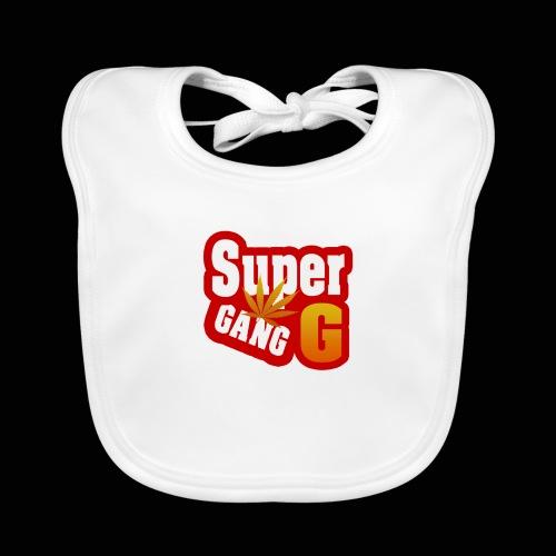 SuperG-Gang - Baby økologisk hagesmæk
