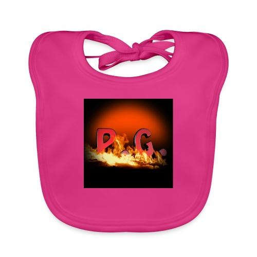 Spilla PanicGamers - Bavaglino ecologico per neonato