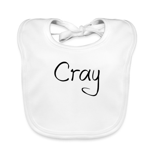 Cray Black Schrifft - Baby Bio-Lätzchen