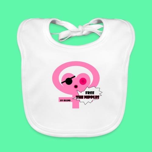 Free the nipples - Hagesmække af økologisk bomuld