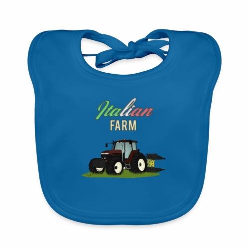 Italian Farm official T-SHIRT - Bavaglino ecologico per neonato