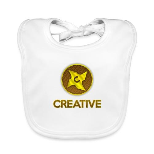 Creative logo shirt - Baby økologisk hagesmæk