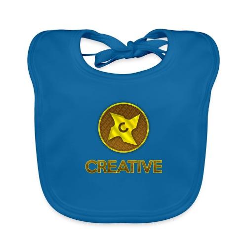 Creative logo shirt - Hagesmække af økologisk bomuld