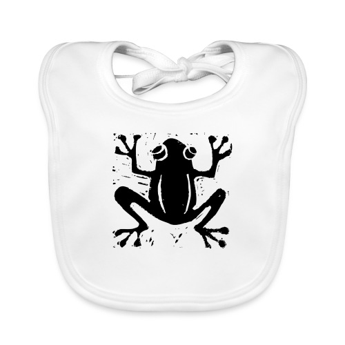 Crafty Wotnots Tree Frog - Baby Organic Bib