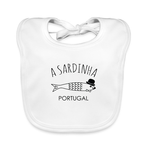 A Sardinha - Portugal - Bavoir bio Bébé