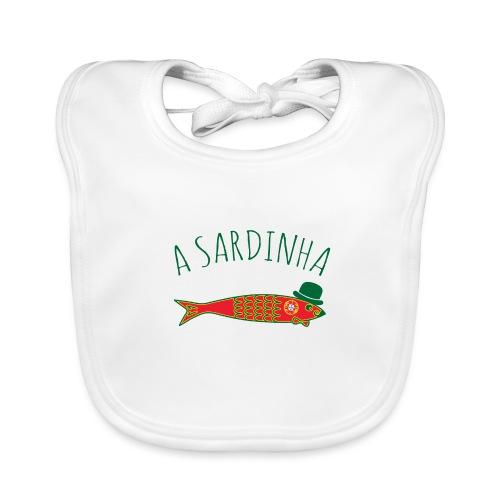 A Sardinha - Bandeira - Bavoir bio Bébé
