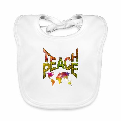 Teach Peace - Organic Baby Bibs
