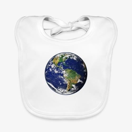 Earth png - Baby Organic Bib