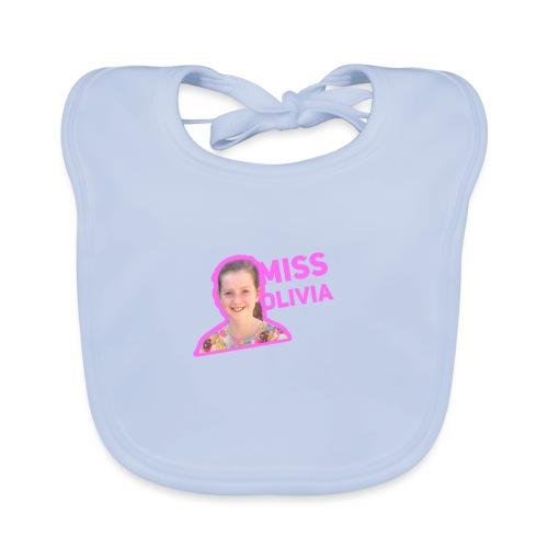 MissOlivia kindermerch - Bio-slabbetje voor baby's