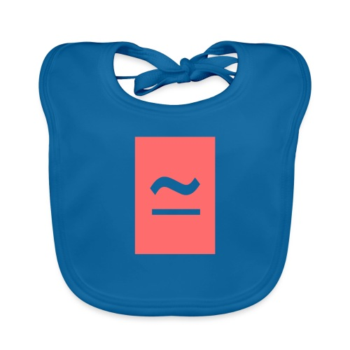 The Commercial Logo (Salmon Pink) - Organic Baby Bibs