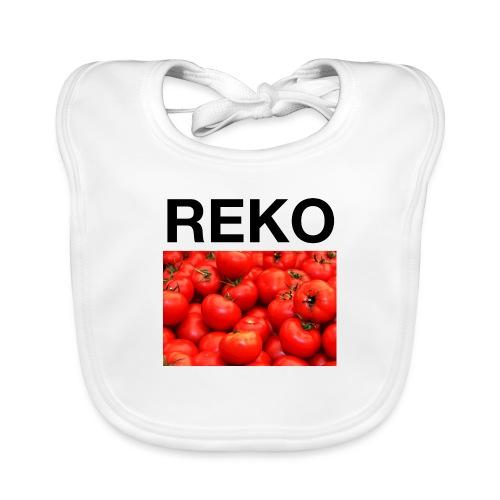 REKOpaita tomaatti - Vauvan luomuruokalappu