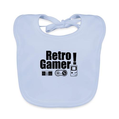 Retro Gamer! - Baby Organic Bib