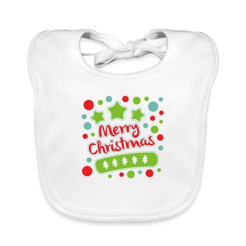 Merry Christmas - Organic Baby Bibs