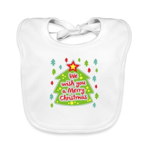 We wish you a Merry Christmas - Organic Baby Bibs