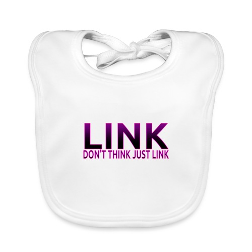LINK PURPLE DESIGN - Baby Organic Bib