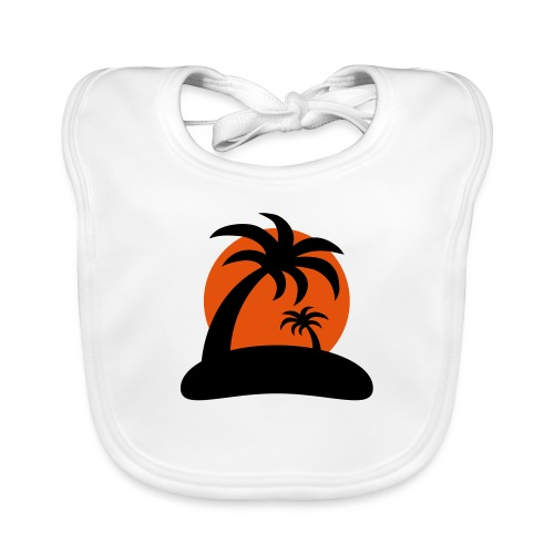 palm island sun - Bio-slabbetje voor baby's