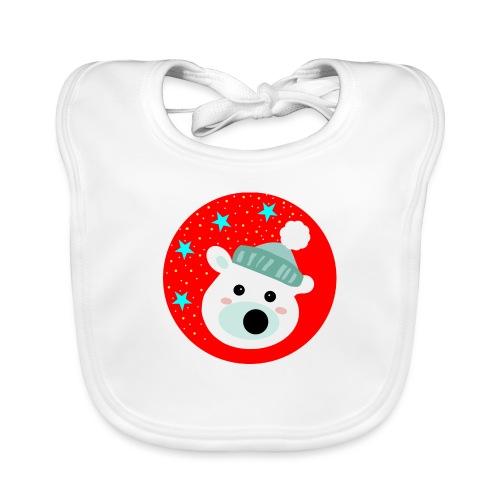 Winter bear - Baby Organic Bib