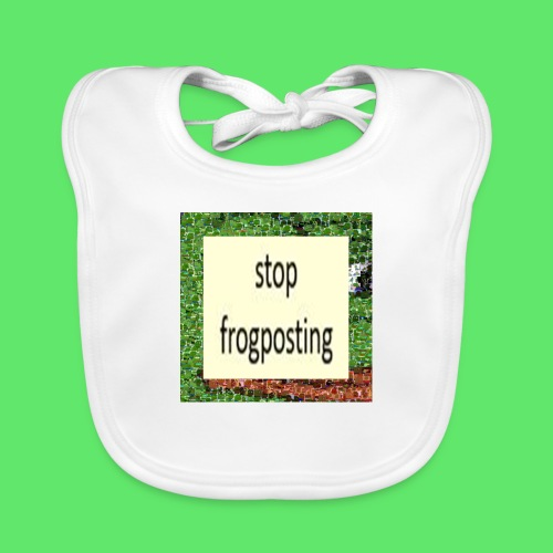 Frogposter - Baby Organic Bib