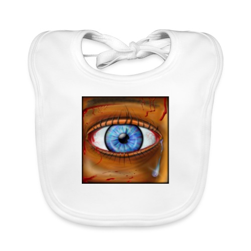 Hyperspace Potato Eye - Baby Organic Bib