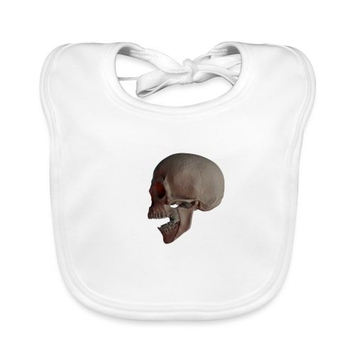 Teschio - Bavaglino ecologico per neonato