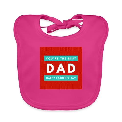 DAD day - Bavoir bio Bébé