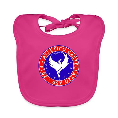 Logo Ufficiale Atletico Castellazzo - Bavaglino ecologico per neonato