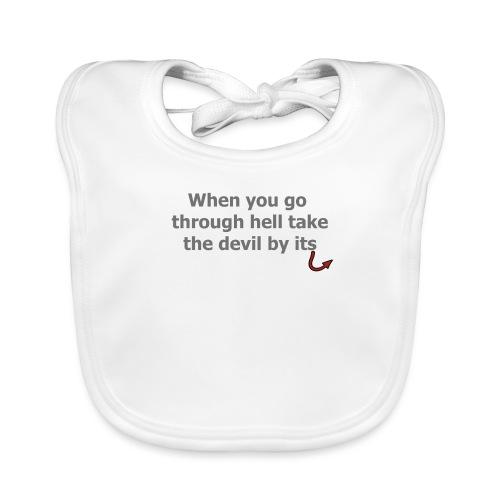 diable - Bavoir bio Bébé