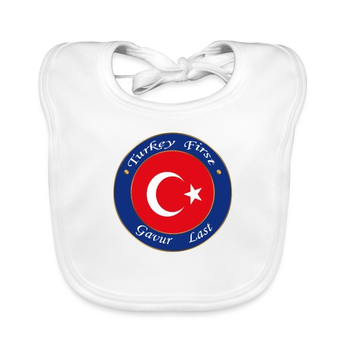 Turkey FIRST - Baby Organic Bib