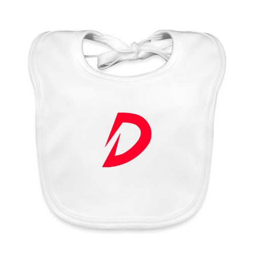 Destra Logo by Atelier render red - Bio-slabbetje voor baby's