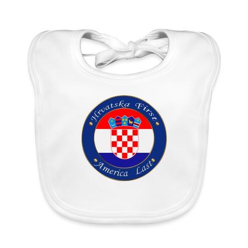 Hrvatska first - Baby Organic Bib