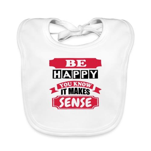 Be Happy - Baby Organic Bib