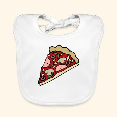 Pizza - Bavoir bio Bébé