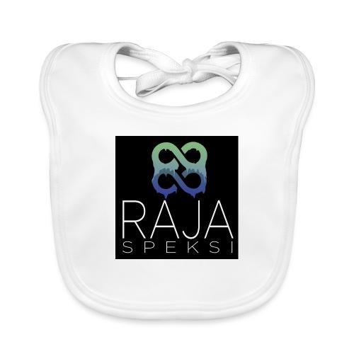 RajaSpeksin logo - Vauvan ruokalappu