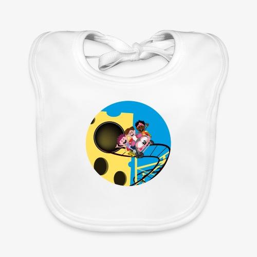 Themepark: Mousecoaster - Bio-slabbetje voor baby's