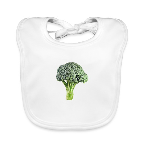 I'm in love with the Broco - Baby Organic Bib