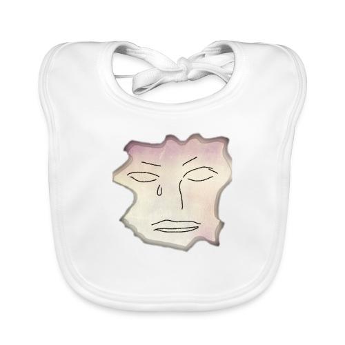 cara - Babero de algodón orgánico para bebés
