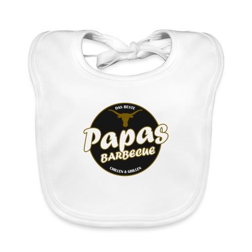 Papas Barbecue ist das Beste (Premium Shirt) - Baby Bio-Lätzchen