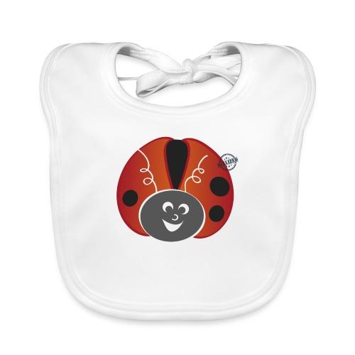 Ladybug - Symbols of Happiness - Baby Organic Bib