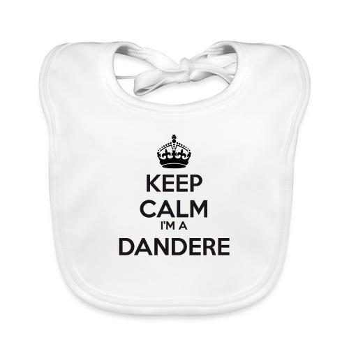 Dandere keep calm - Baby Organic Bib