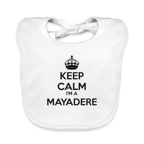 Mayadere keep calm - Organic Baby Bibs