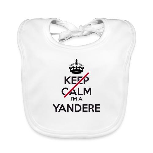 Yandere don't keep calm - Organic Baby Bibs