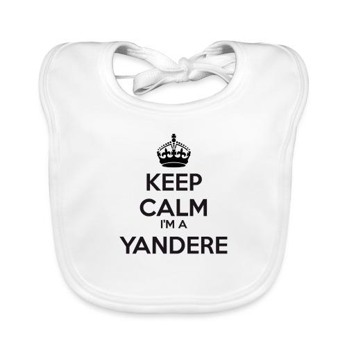 Yandere keep calm - Organic Baby Bibs
