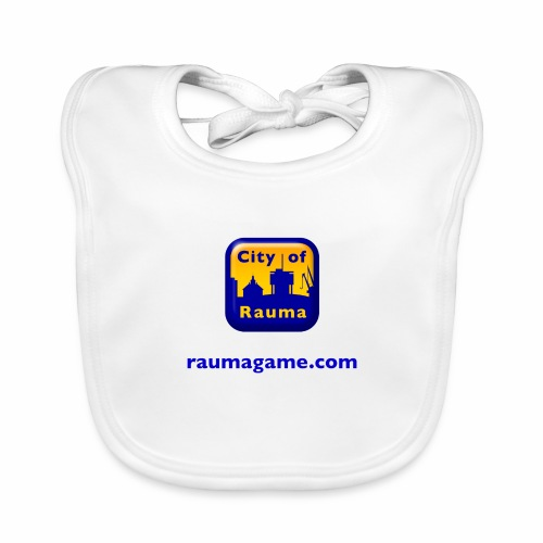 Raumagame logo - Vauvan luomuruokalappu